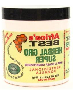 Africa's Best Herbal Gro Super 5.25 oz. Jar  with Free Nail