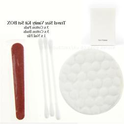 Hotel Travel Size Hospitality Vanity Kit Set: Cotton buds, C