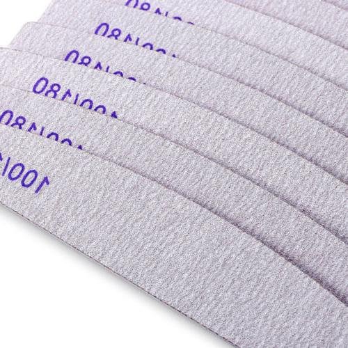 10 Acrylic Nail 100/180 Zebra HOT SALE