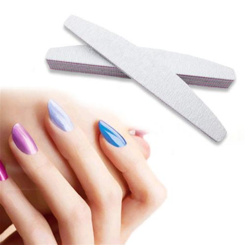 10 pcs Professional Acrylic Nail File Zebra SALE