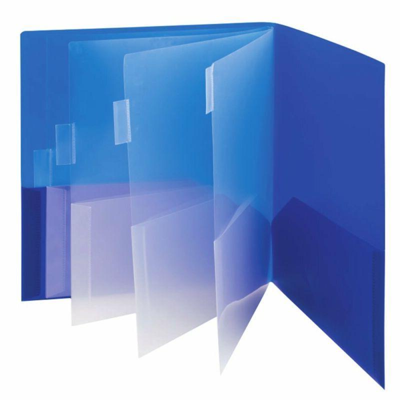 Smead 10-Pocket Organizer, Size, 2 Per 1 Blue Teal