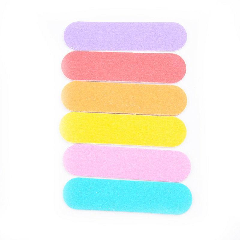 100pcs Mini File Block UV Polisher