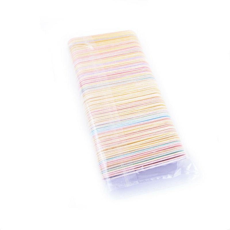100pcs Mini Nail File UV