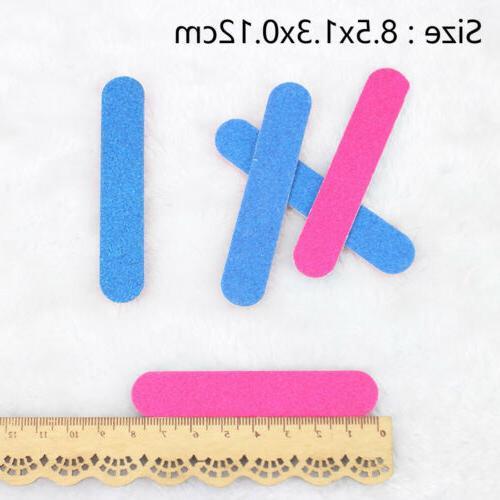 100pcs Mini Files Artificial Cuticle
