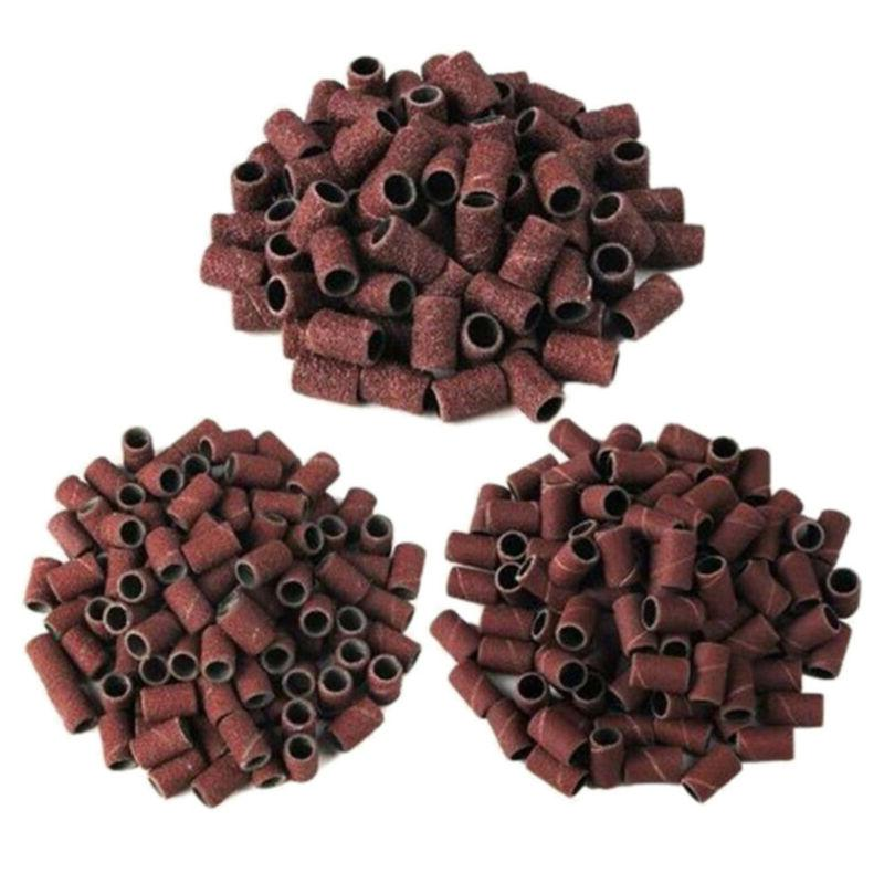 100pcs Drill Sanding Bands Replacement File 80# US