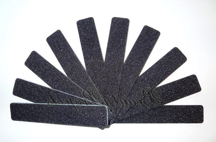 50pcs Jumbo 80/100 Shape Plastic Sanding File