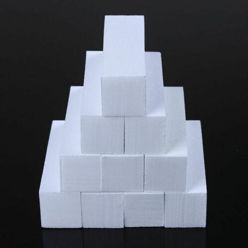 10pcs Buffer Block Way Block Sponge Polisher Tips