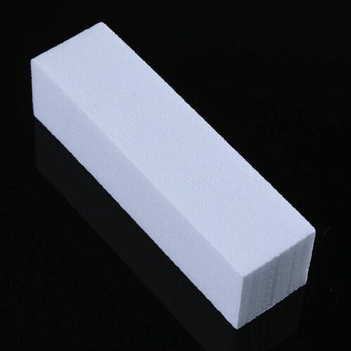 10pcs Nail Art Block 4 Block Files Sponge Polisher Tips