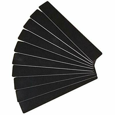 10pcs professional double sided nail files emery