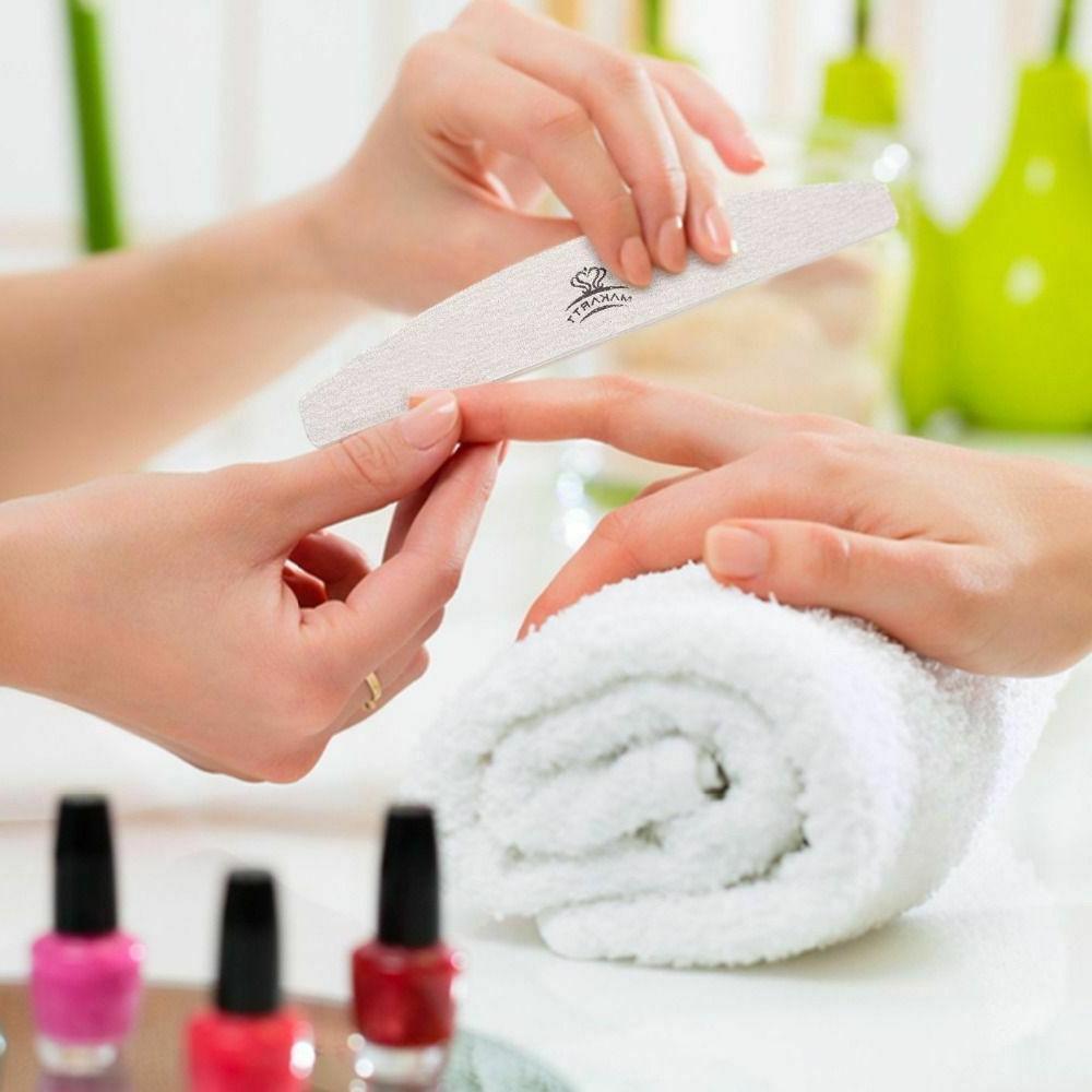10pcs Zebra Double Files Salon Pedicure Manicure
