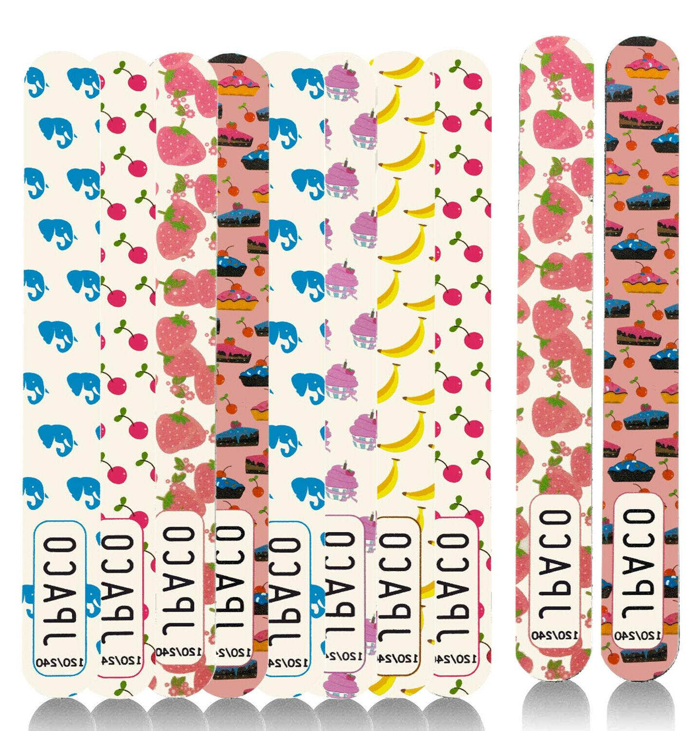 12 pcs professional cute nail files 120