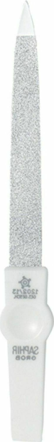Pfeilring 1202/12W Sapphire White Nail File 120mm - Made in