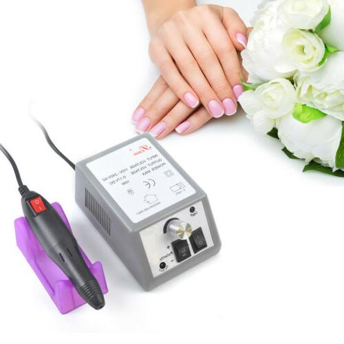 20 000rpm electric nails manicure drill polishing
