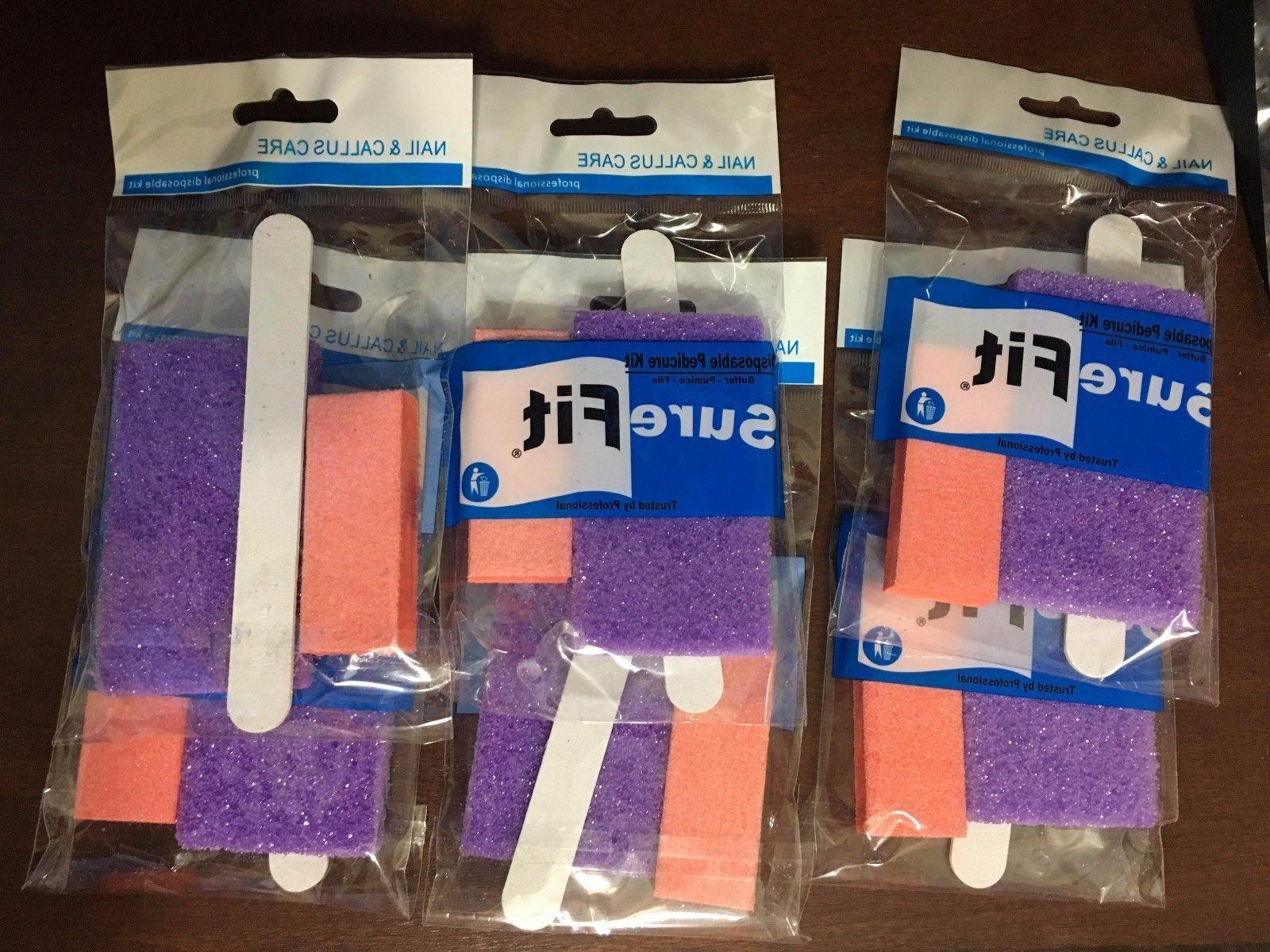 200 sets nail file buffer toe pedicure