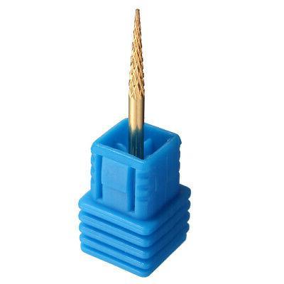2pcs Nail Drill File Taper Coated New