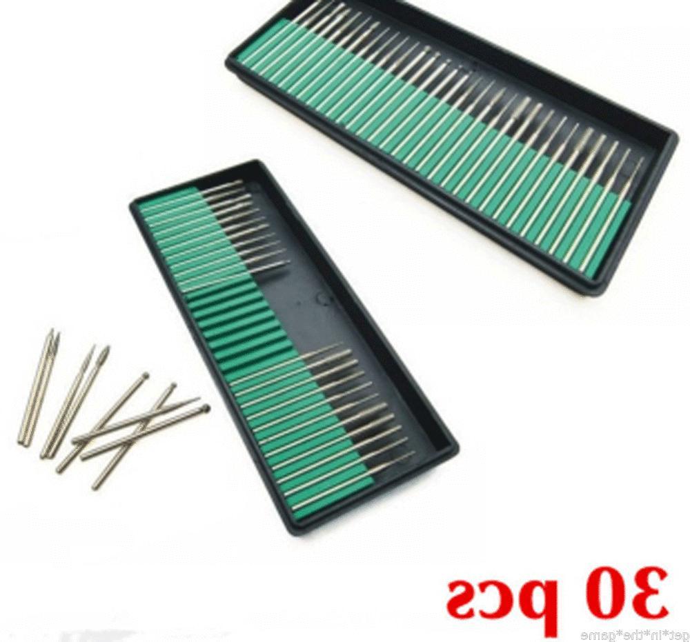 30 Nail Drill Manicure Pedicure Files Tool