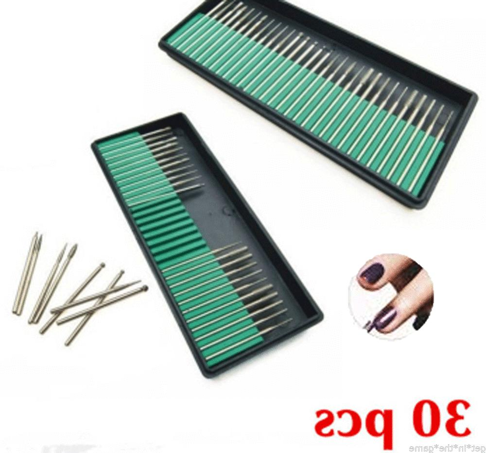 30 nail art electric drill bits replacement