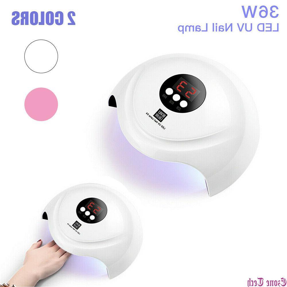 36w led uv nail polish dryer lamp