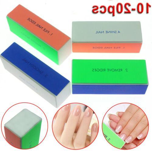 4 Way Buffer Block Shine File Polish Nail Professional Beatu