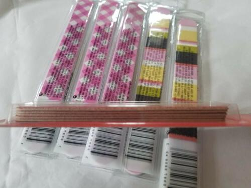 5 Isaac Nail Files Plus pack of