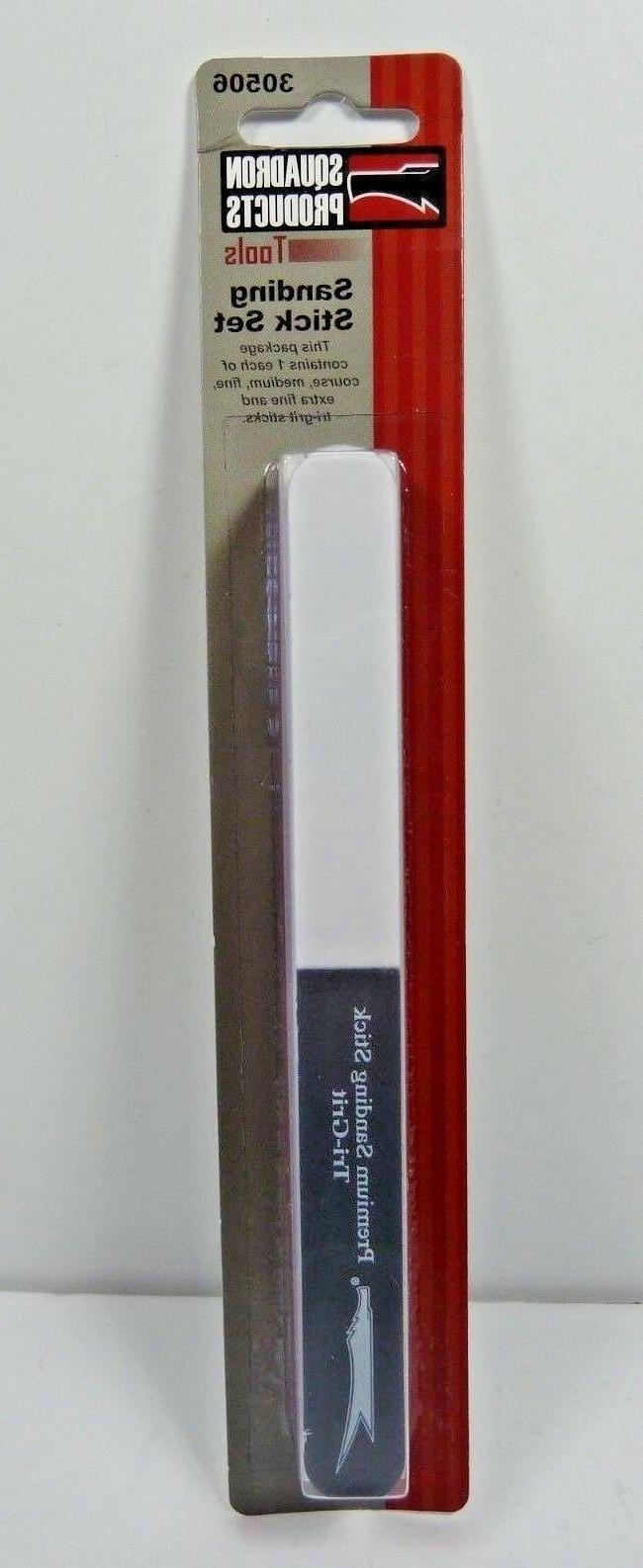 Squadron Products 5 Sanding Stick Set 30506 coarse - extra f