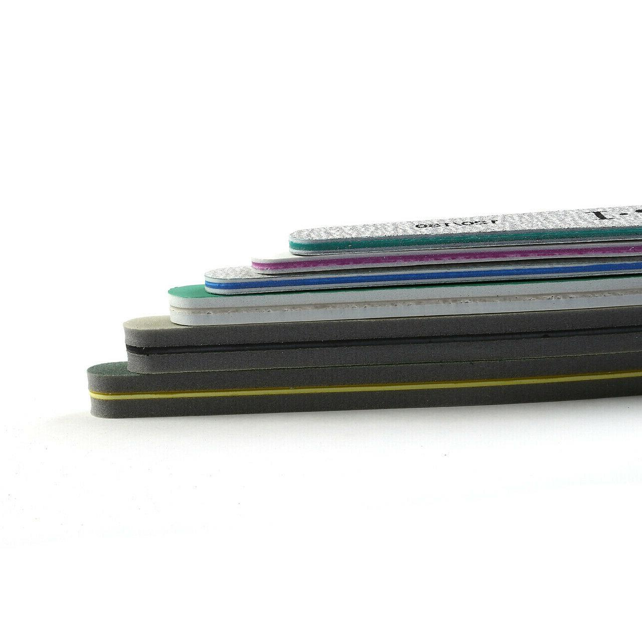 6 Packs Double Sided Emery Boards Files US