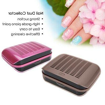 68W Nail Collector Nail Dust Suction US/EU