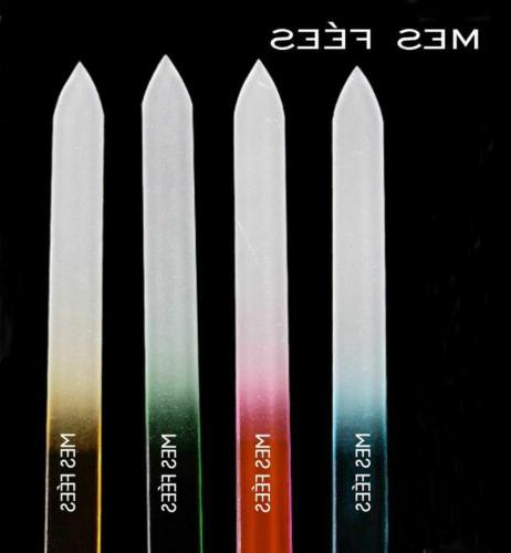 6PCS Files Crystal Glass Durable Device