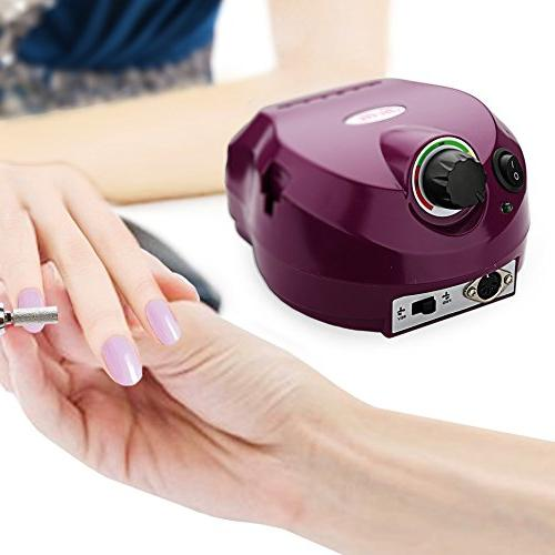Belle Nail Drill Manicure Machine Complete with 30,000RPM,