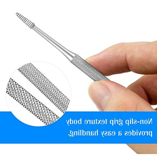 Ingrown Toenail Spoon Nail Stainless Tool for Home Use Lifter Manicure File Foot Professional