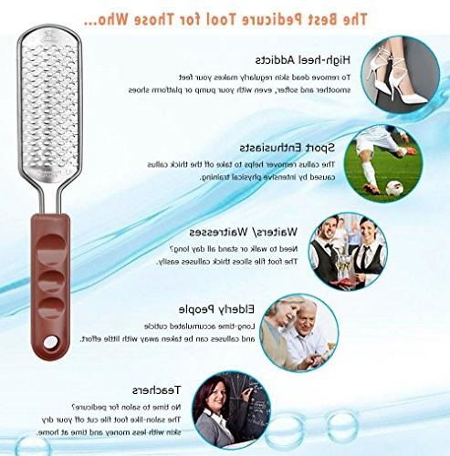 MAKARTT Coarse Remover Steel Foot for Extra Soft Beautiful F-08
