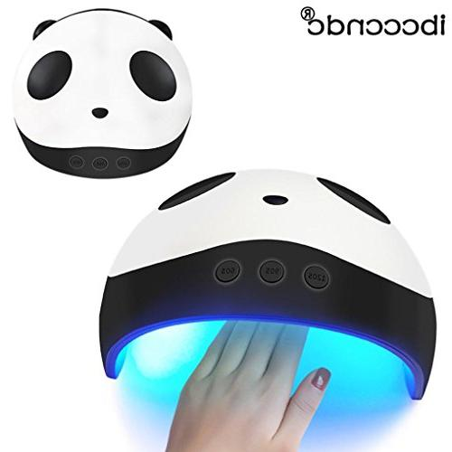 USB Panda 36W LED UV Nail Gel Curing Lamp Dryer Machine Cure