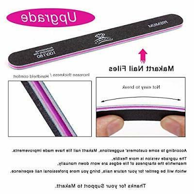 Makartt® file washable type emery board