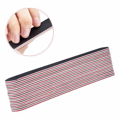 Black Pro Manicure Nail File Boards of 10