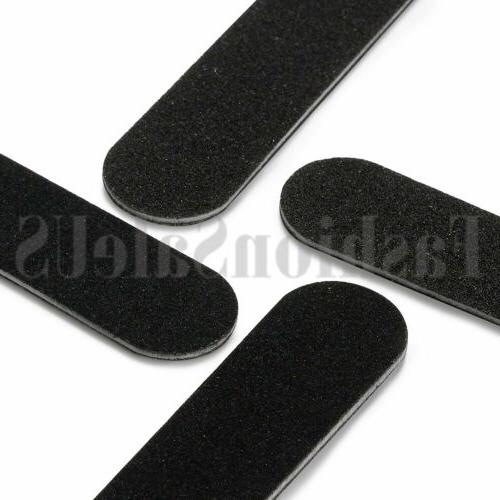 Black Pro Sided Manicure Boards #100 #180 of