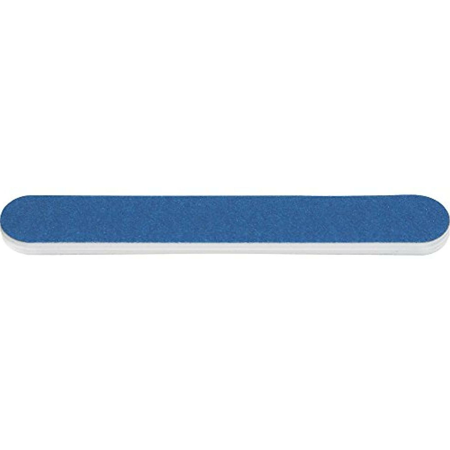 """Blue Mini Grit Double-Sided File, 3.5"""" W 50Count"""