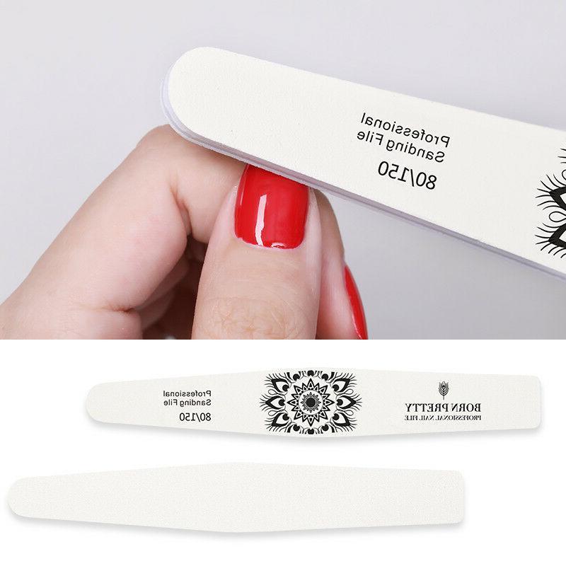 BORN PRETTY Washable Nail Polishing Nail Art Tools
