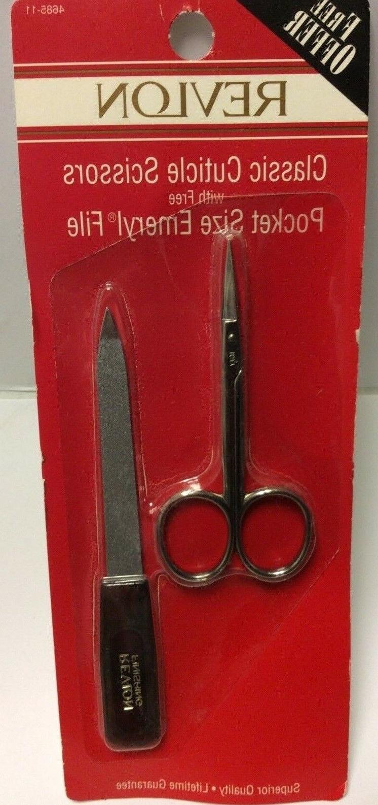 classic cuticle scissors fine blades with pocket