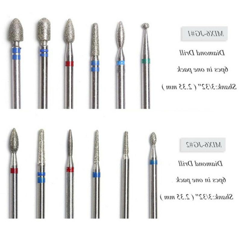 Nail File Rotary Drill Bit Diamond Nail Equipment