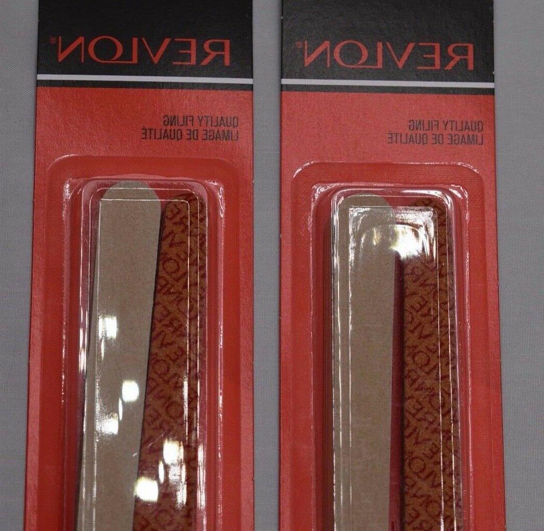 Revlon Boards 24 shapes manicure pedicure pk