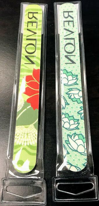 designer nail file assorted colors designs 1