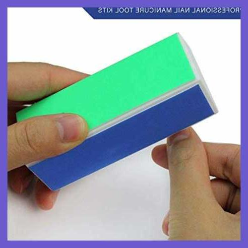 Reazeal Powder Kit Tray Nail Block & File
