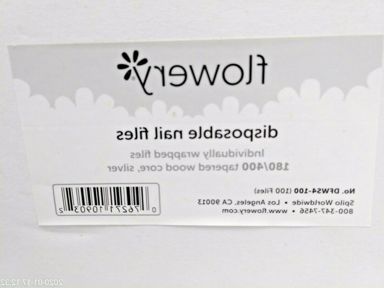 disposable nail file wood core 180 400