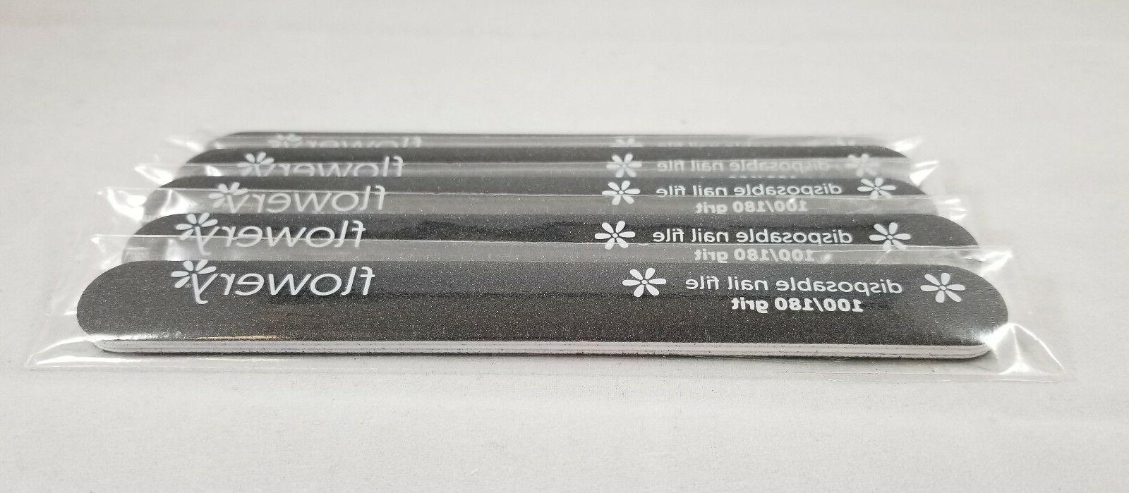 disposable nail files cushion 100 180 grit