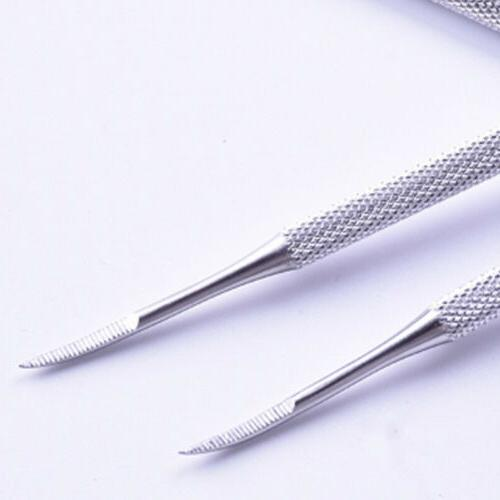 Double Ended Stainless Ingrown File Toe Nail File Tools