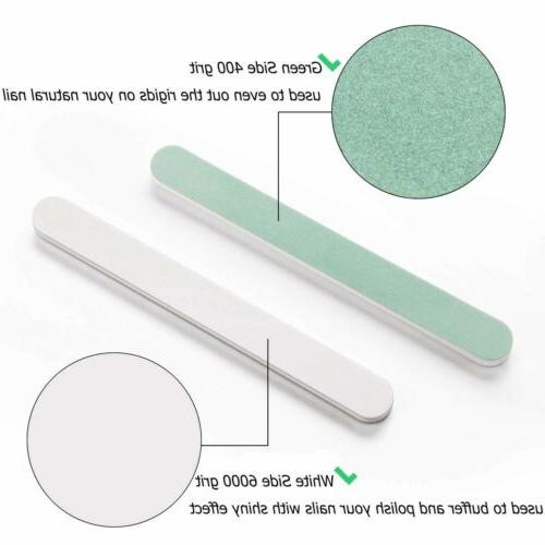 Double-side Nail Buffer File Polisher Tool Smooth and