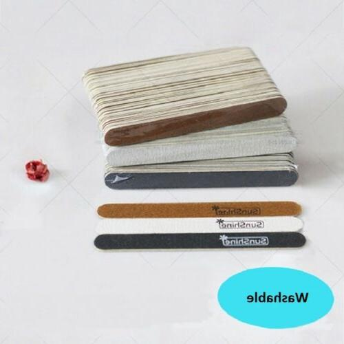 EDGE Wood Nail Files Washable 150/240 120/180 100/180 Grit A