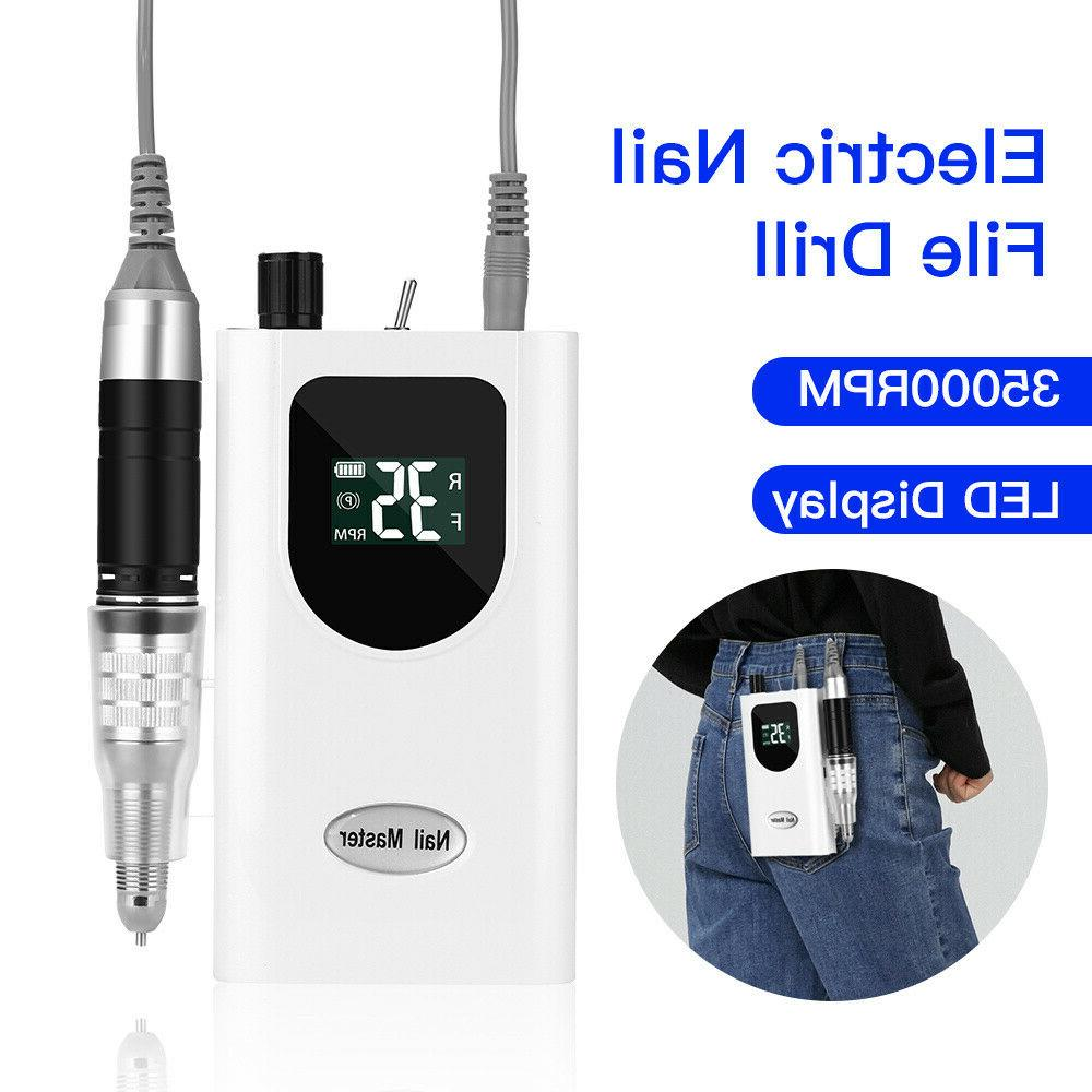 electric nail drill machine 35000rpm salon machine