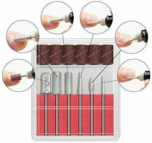 Electric Drill Kit Professional Pedicure Manicure Polishing