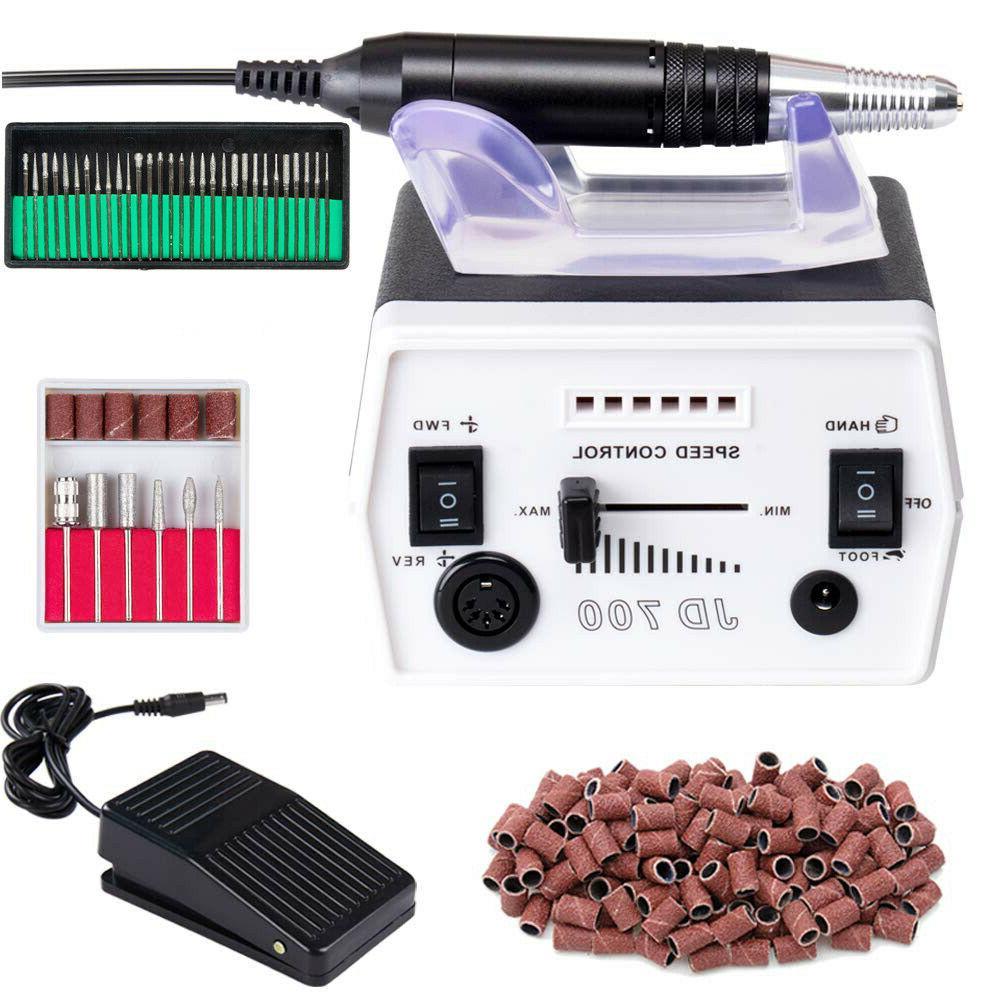 Electric File Manicure Machine Acrylic Tool
